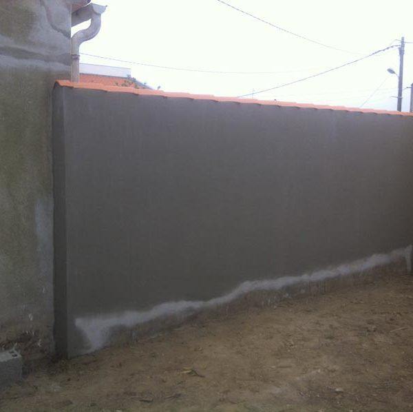 Guiet Construction, mur de clôture extérieur en Vendée
