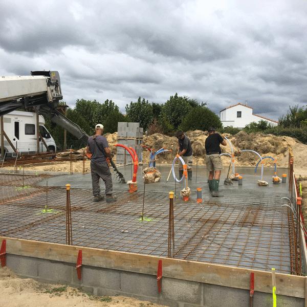 Guiet Construction, maçonnerie générale au Château d'Olonne spécialisé dans la construction de maisons individuelles