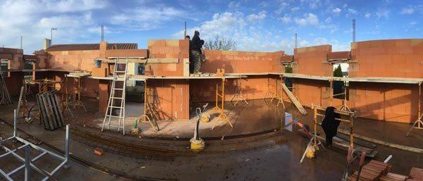Réalisation d'une maison en brique par Guiet construction en Vendée (Château d'Olonne)